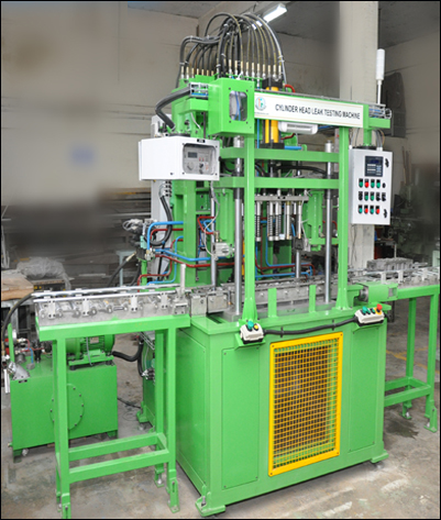 3 & 4 CYLINDER HEAD LEAK TESTING MACHINE